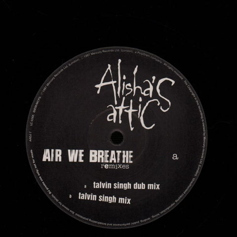 "Air We Breathe (Talvin Singh Mixes)-Mercury-10"" Vinyl-VG+/VG+"