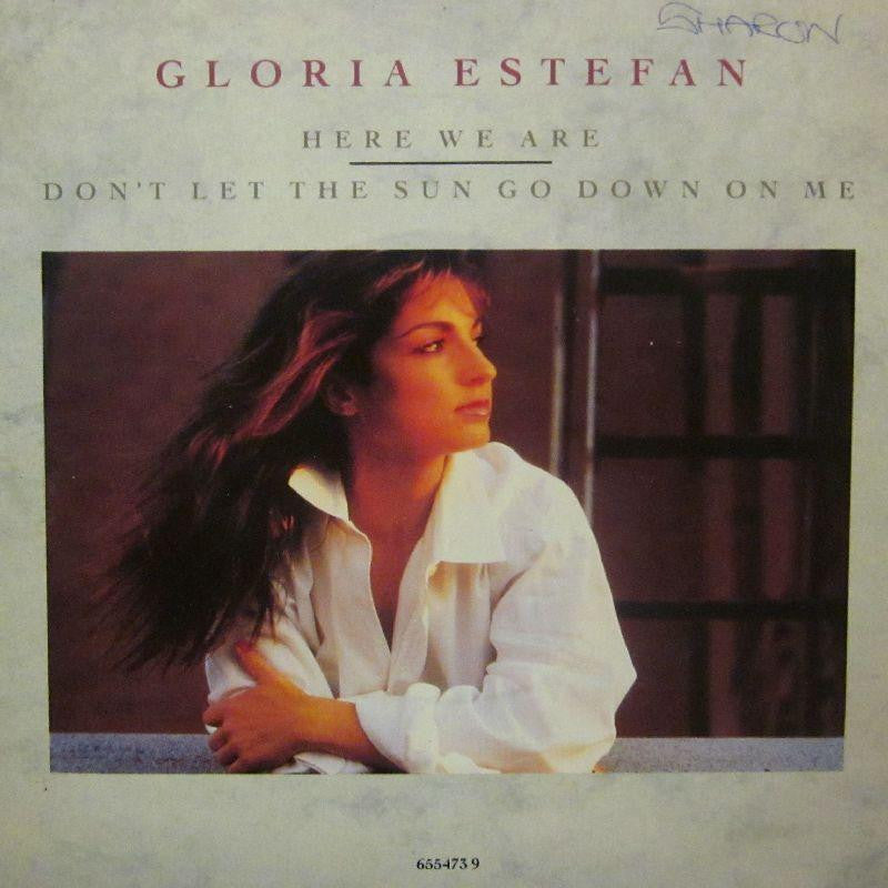 "Gloria Estefan-Here We Are-Epic-7"" Vinyl P/S"