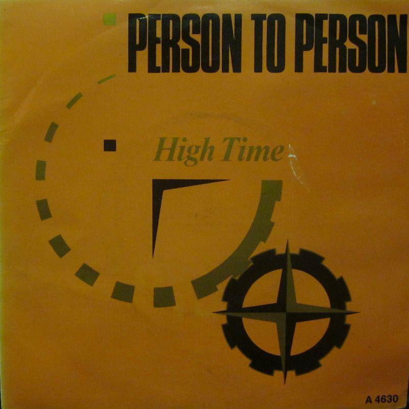 "Person To Person-High Time-Epic-7"" Vinyl P/S"