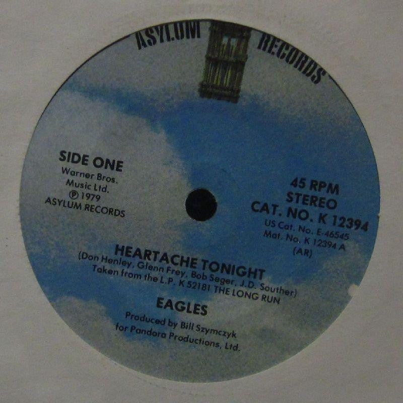 "Eagles-Heartache Tonight-Asylum-7"" Vinyl"