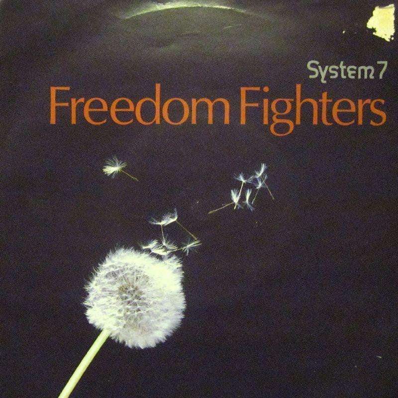 "System 7-Freedom Fighters-10-7"" Vinyl P/S"