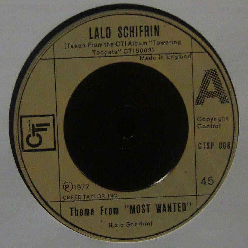 "Lalo Schifrin-Theme From Most Wanted-CTI-7"" Vinyl"