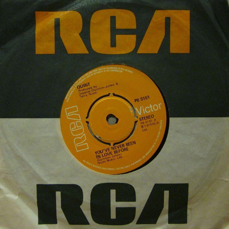 "Quint-You've Never Been In Love Before-RCA-7"" Vinyl"