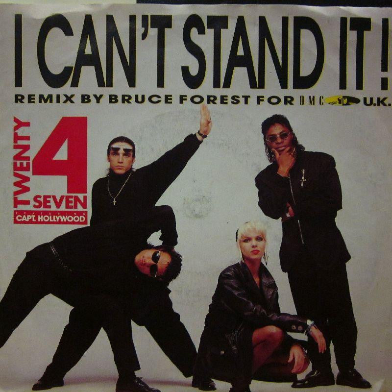 "Twenty 4 Seven-I Can't Stand It-BCM-7"" Vinyl P/S"