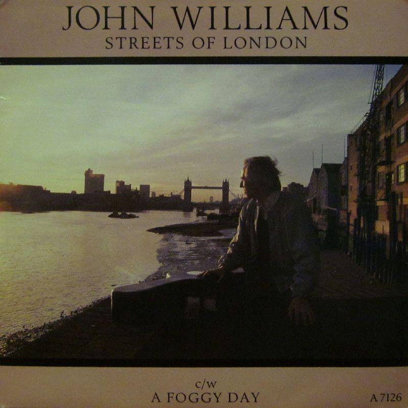 "John Williams-Streets Of London-CBS-7"" Vinyl P/S"
