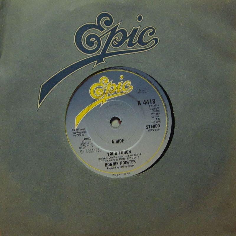 "Bonnie Pointer-Your Touch-Epic-7"" Vinyl P/S"