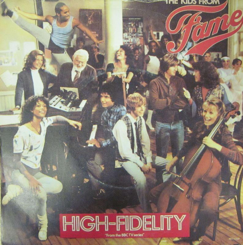 "The Kids From Fame- High Fidelity-RCA-7"" Vinyl"