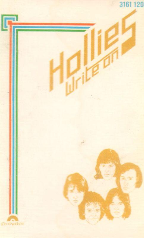 Hollies-Write On-Cassette