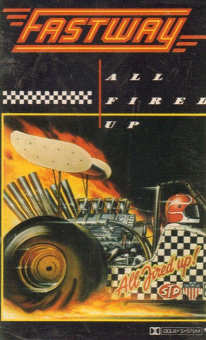Fastway-All Fired Up-Cassette