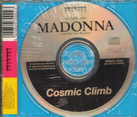Madonna-Cosmic Climb-Receiver-CD Single-New & Sealed