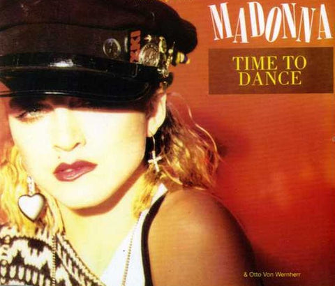 Madonna-Time To Dance-Receiver-CD Single