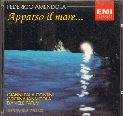 Amendola-Apparso Il Mare-CD Album