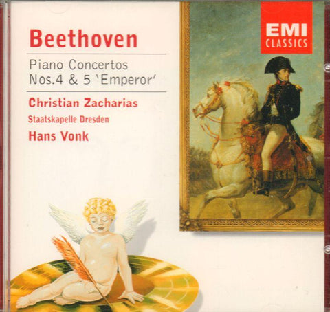 Beethoven-Piano Concertos No's. 4, 5 'Emperor'-CD Album