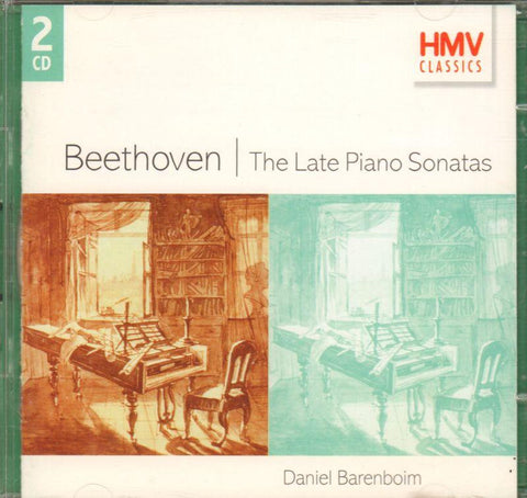 Beethoven-The Late Piano Sonatas-CD Album