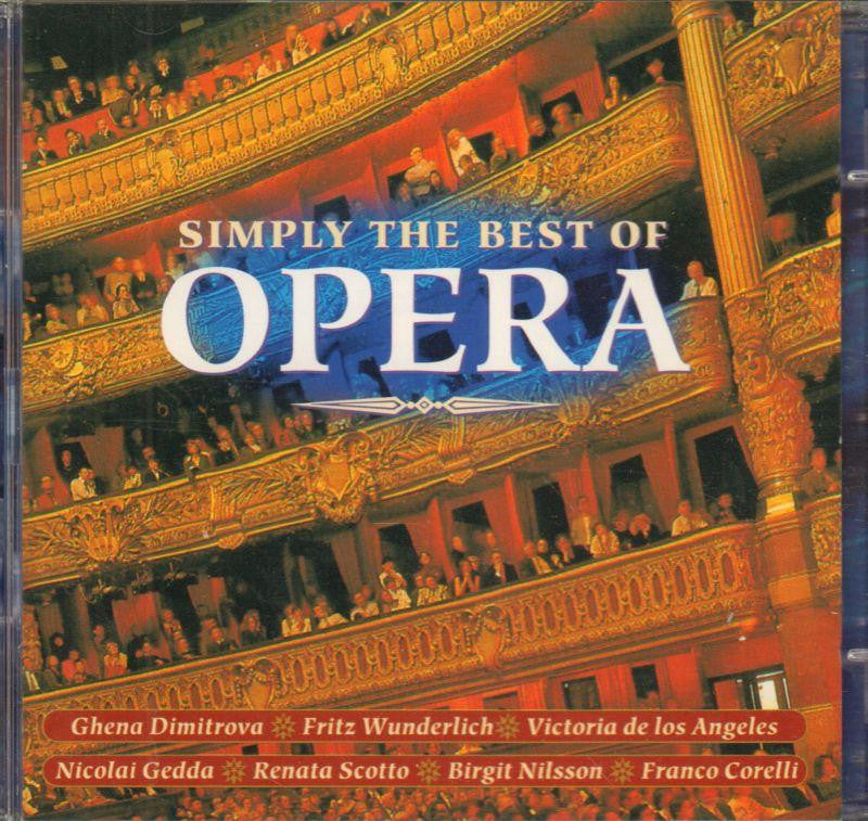 Various Opera-Simply The Best Of Opera-CD Album