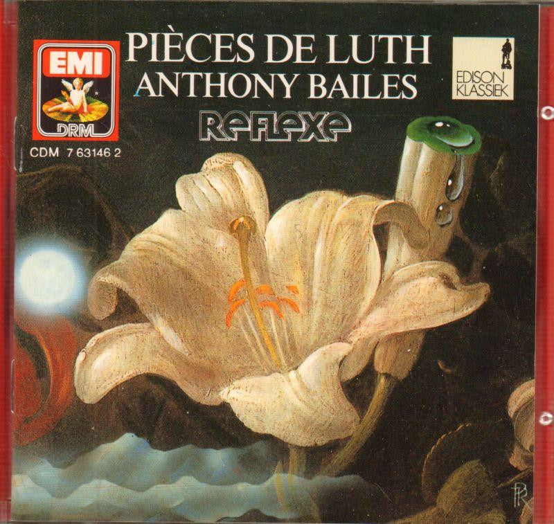 Anthony Bailes-Piezas Laud-Varios-CD Album