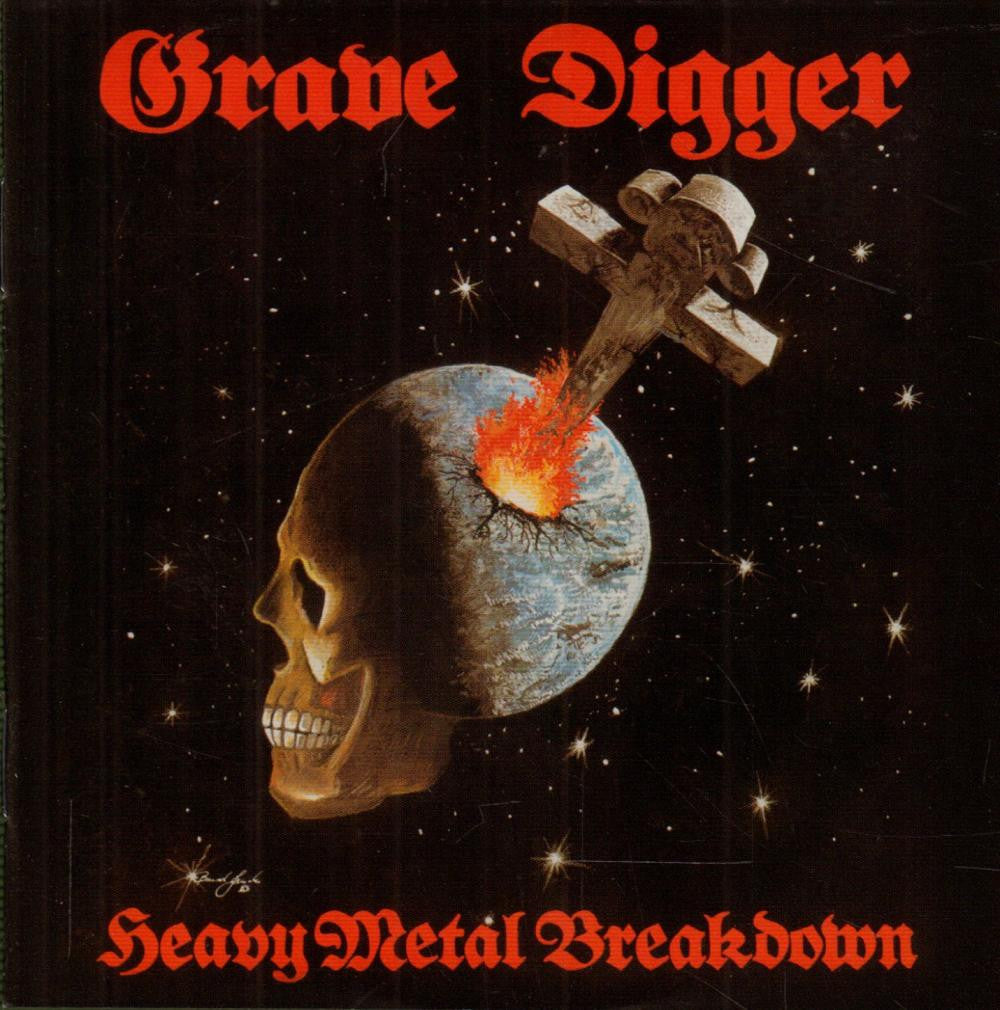 Grave Digger-Heavy Metal Breakdown-CD Album
