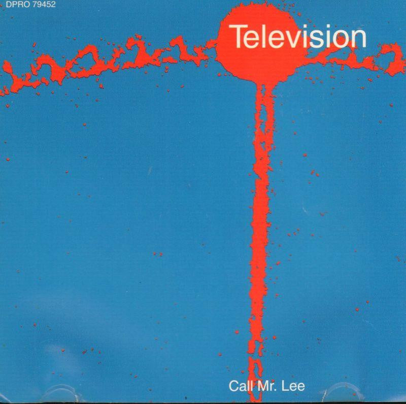 Television-Call Mr. Lee-CD Single