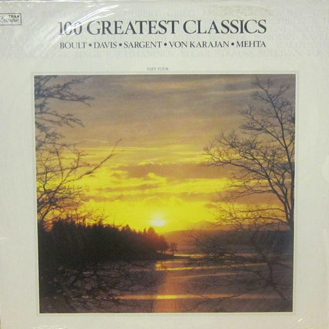 Various 70's Classical-100 Greatest Classics Part Four-Trax Classique-Vinyl LP