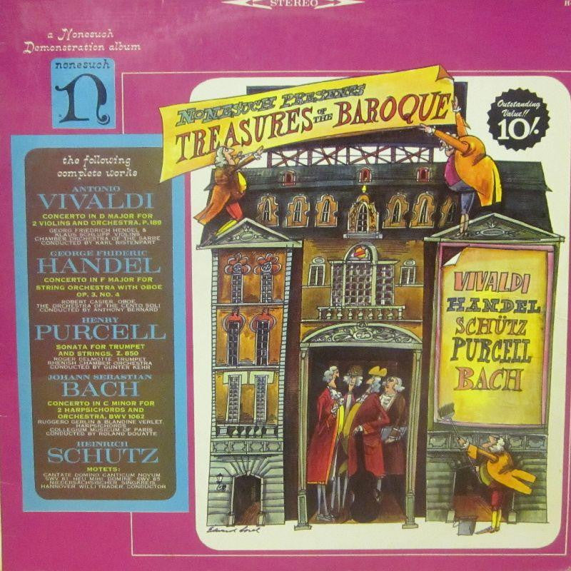 Various Composers-Treasures Of The Baroque-Nonesuch-Vinyl LP