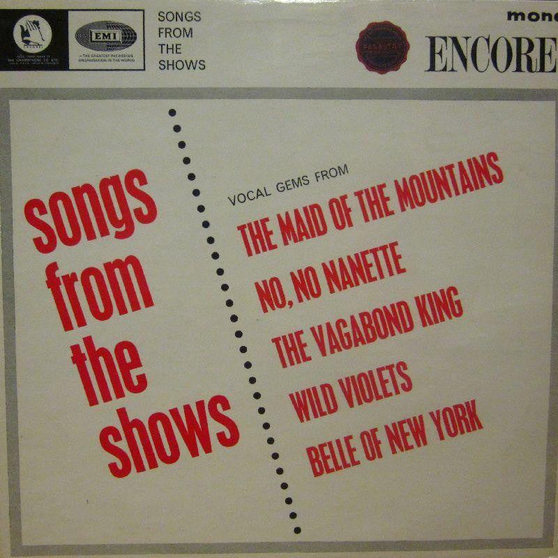 D J Shortcut-Songs From The Shows-Encore-Vinyl LP