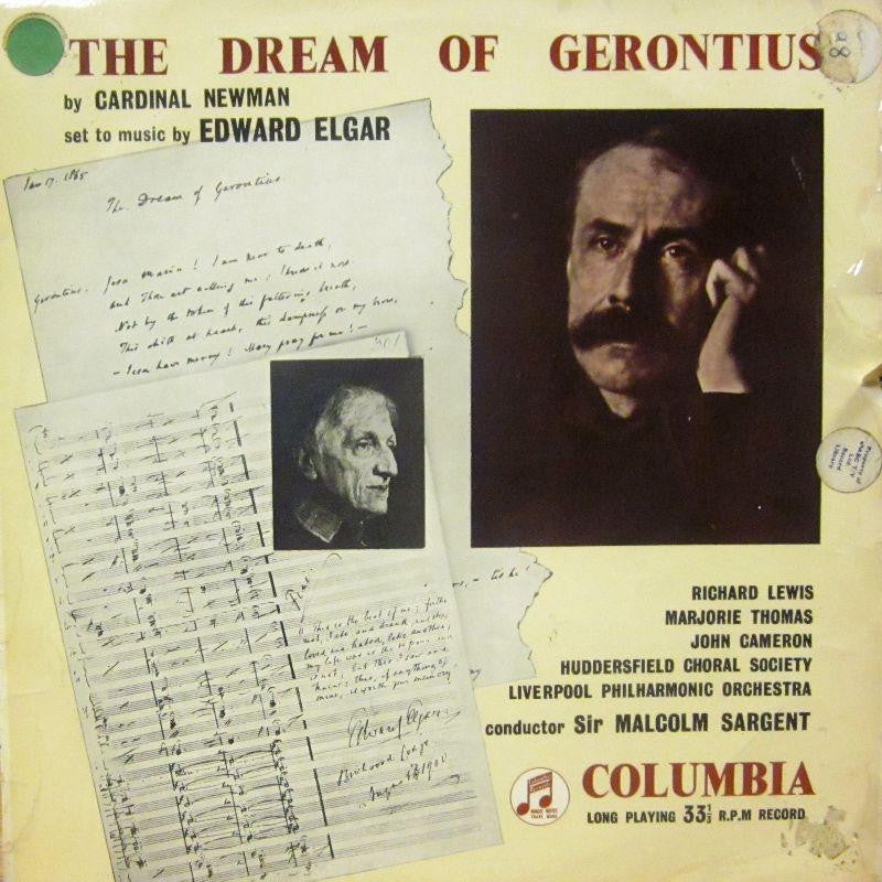Elgar-The Dream Of Gerontius-Columbia-Vinyl LP
