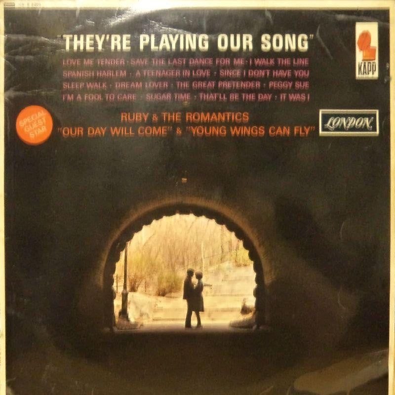 Davy Davies And His Orchestra-They're Playing Our Song-London-Vinyl LP