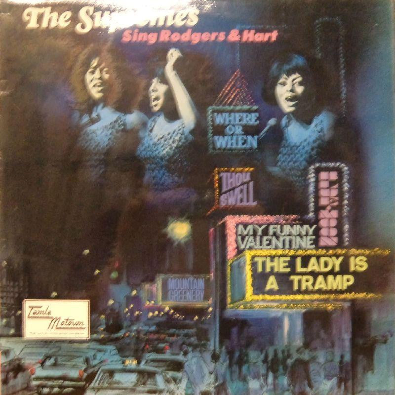 The Supremes-Sing Rodgers & Hart-Tamla Motown-Vinyl LP