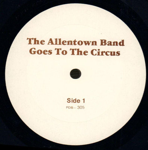 The Allentown Band-Goes To The Circus-Vinyl LP-Ex+/Ex