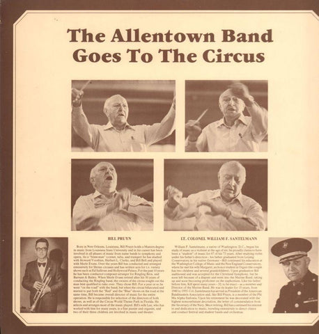 The Allentown Band-Goes To The Circus-Vinyl LP