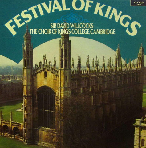 "The King's College Choir, Cambridge-Festival Of Kings-Argo-4x12"" Vinyl LP Box Set"