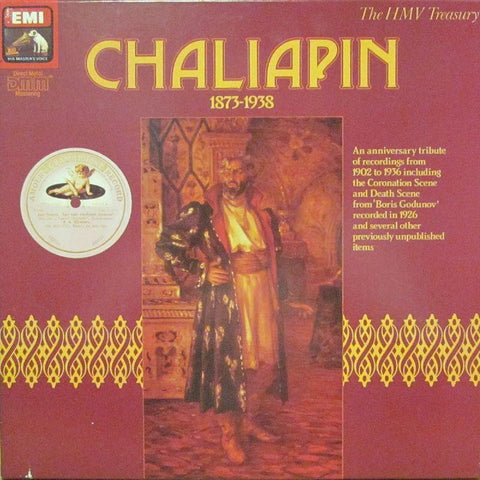 "Chaliapin-1873-1938-HMV-4x12"" Vinyl LP Box Set"