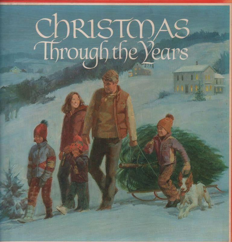 "Various Christmas-Christmas Through The Years-Reader's Digest-6x12"" Vinyl LP Box Set"