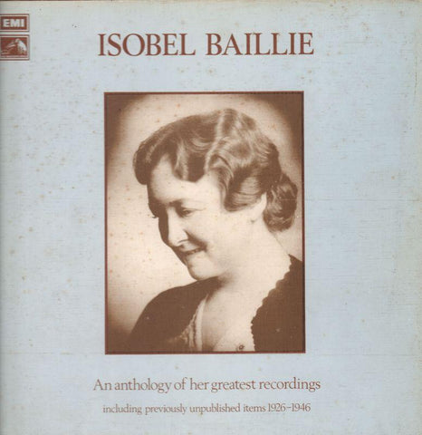 "Isobel Baillie-An Anthology Of Her Greatest Recordings-HMV-2x12"" Vinyl LP Box Set"