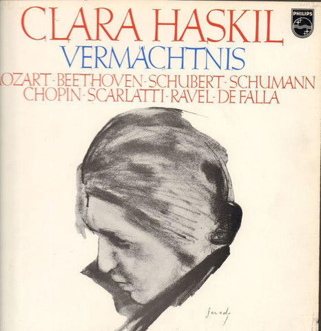 "Clara Haskil-Vermachtnis-Philips-9x12"" Vinyl LP Box Set"