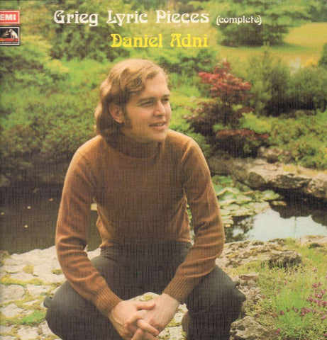 "Grieg-Lyric Pieces Daniel Adnil-HMV-4x12"" Vinyl LP Box Set"