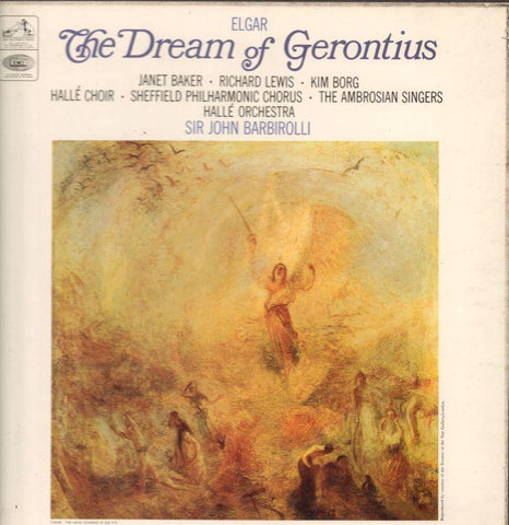 "Elgar-The Dream Of Gerontius John Barbirolli-HMV-2x12"" Vinyl LP Box Set"