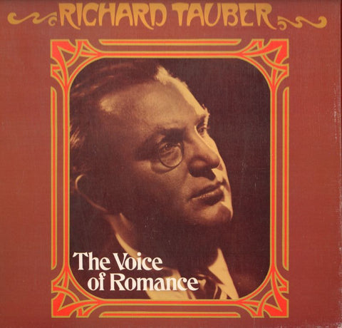 "Richard Tauber-The Voice Of Romance-World Record Club-4x12"" Vinyl LP Box Set"