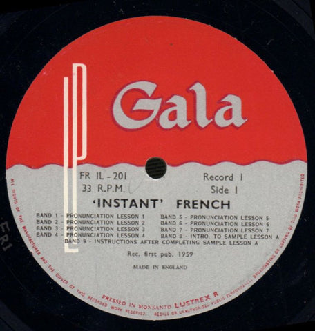 "Raymond Guiscard-Instant French-Gala-2x12"" Vinyl LP Box Set-VG/VG"