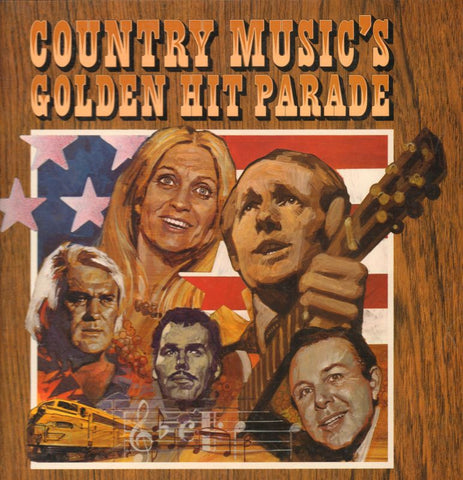 "Various Country-Country Music's Golden Hit Parade-Readers Digest-7x12"" Vinyl LP Box Set"