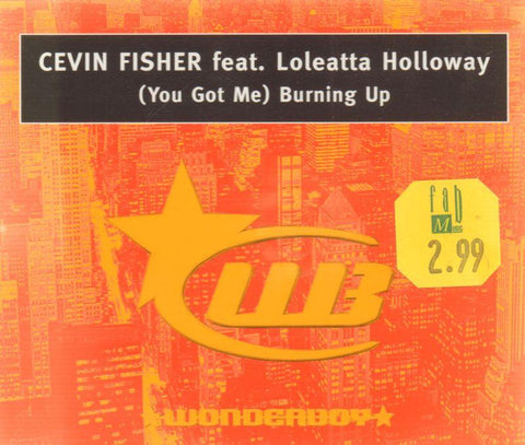 (You Got Me) Burning Up-CD Single