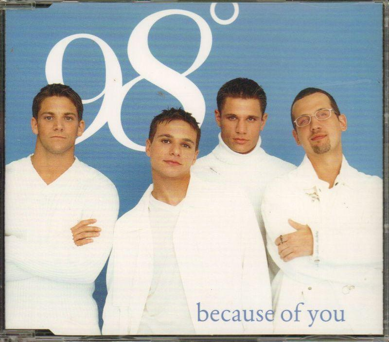 Because Of You-CD Single