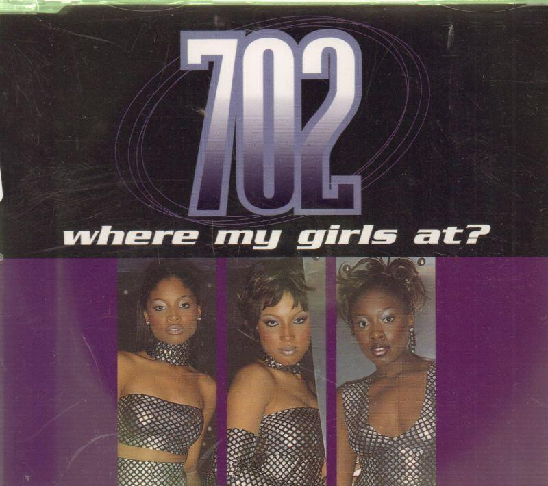 Where My Girls At?-CD Single