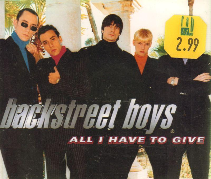 All I Have To Give-CD Single