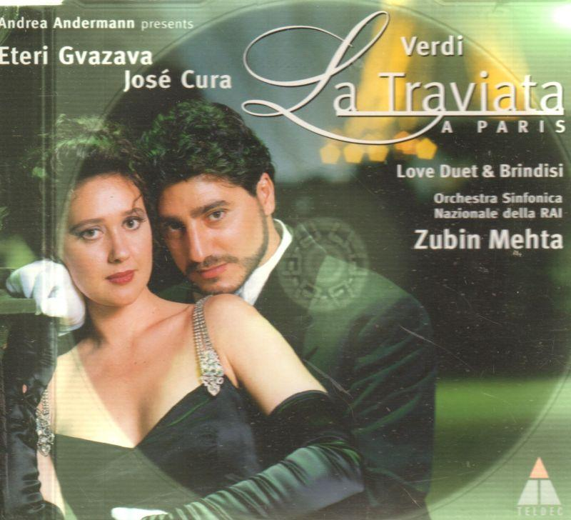 Giuseppe Verdi: La Traviata A Paris (Love Duet & Brindisi)-CD Single