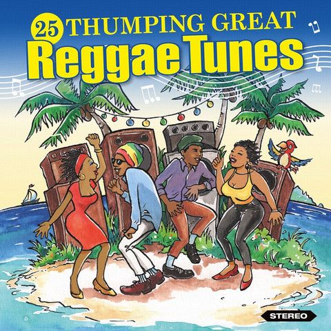 25 Thumping Reggae Tunes-Burning Sounds-CD Album