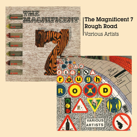 Magnificent 7 + Rough Road-Burning Sounds-CD Album