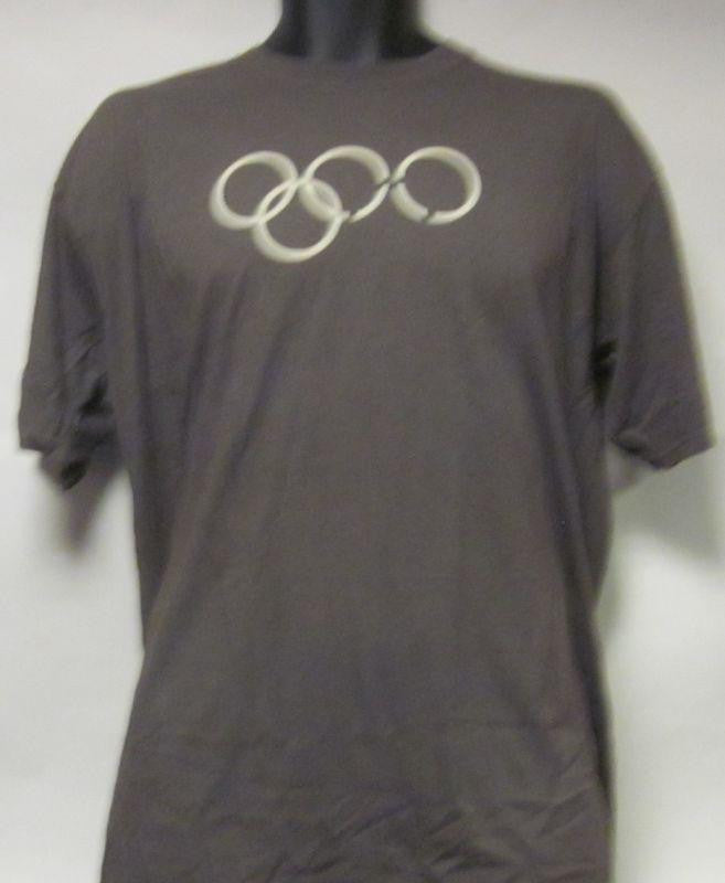 4 Olympic Rings-Helping Other People Everywhere Hope-Grey-Men-Large-T Shirt