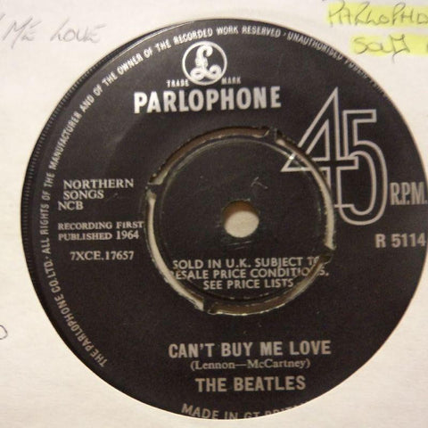 "The Beatles-Can't Buy Me Love/ You Can Do That-Parlophone-7"" Vinyl"