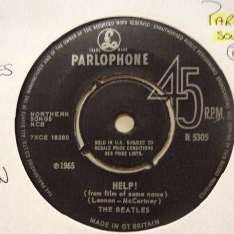 "The Beatles-Help/ I'm Down-Parlophone-7"" Vinyl"